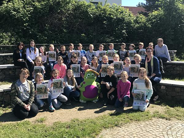In der Astrid-Lindgren-Schule in Waldalgesheim wird dank der Volksbank Rhein-Nahe-Hunsrück eG gekruschelt. Bild (c)VRM