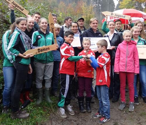 Platz 1 bei Sterne des Sports 2013: SSV Boppard