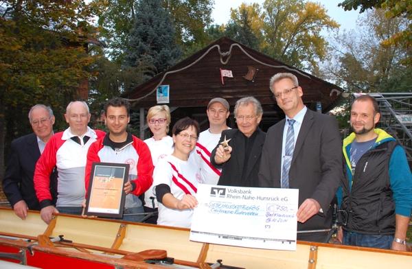 Platz 2 bei Sterne des Sports 2014: Creuznacher Ruderverein 1876 e.V.