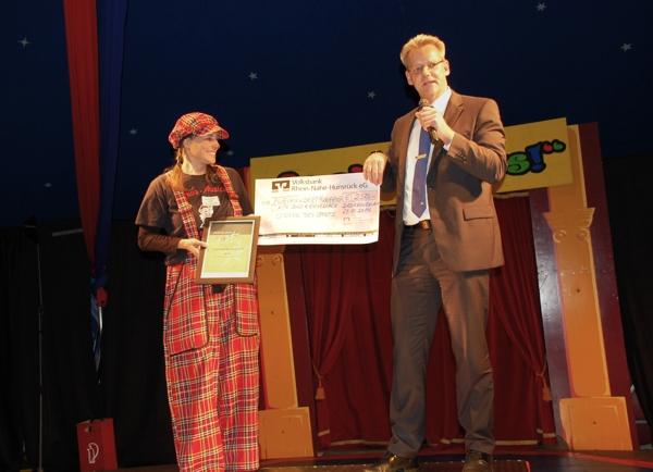 Sonderpreis für den 1. KTC Bad Kreuznach bei Sterne des Sports 2014