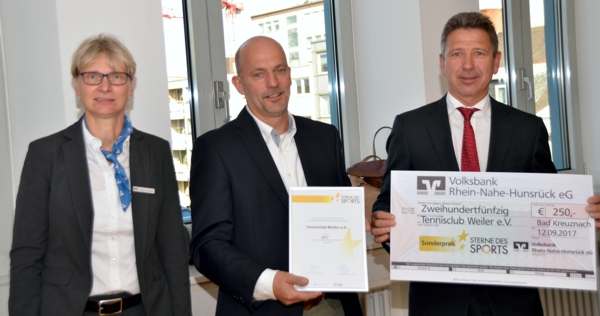 Sterne des Sports 2017 TC Weiler e.V. bei Bingen