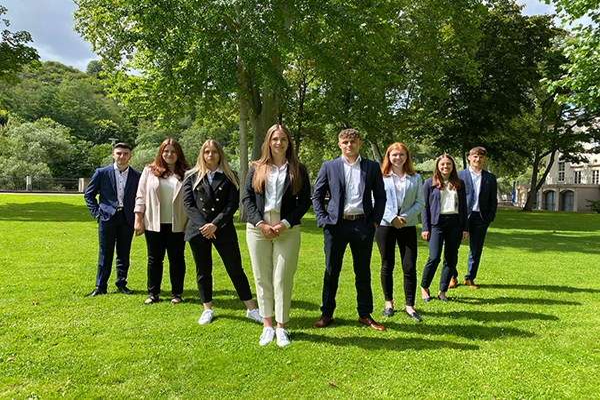 Start frei für die neuen Auszubildenden der Volksbank Rhein-Nahe-Hunsrück eG